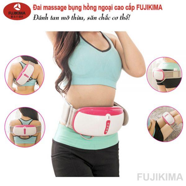 Đai massage eo cao cấp fujikima