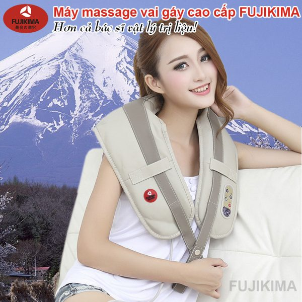 máy massage vai gáy fujikima