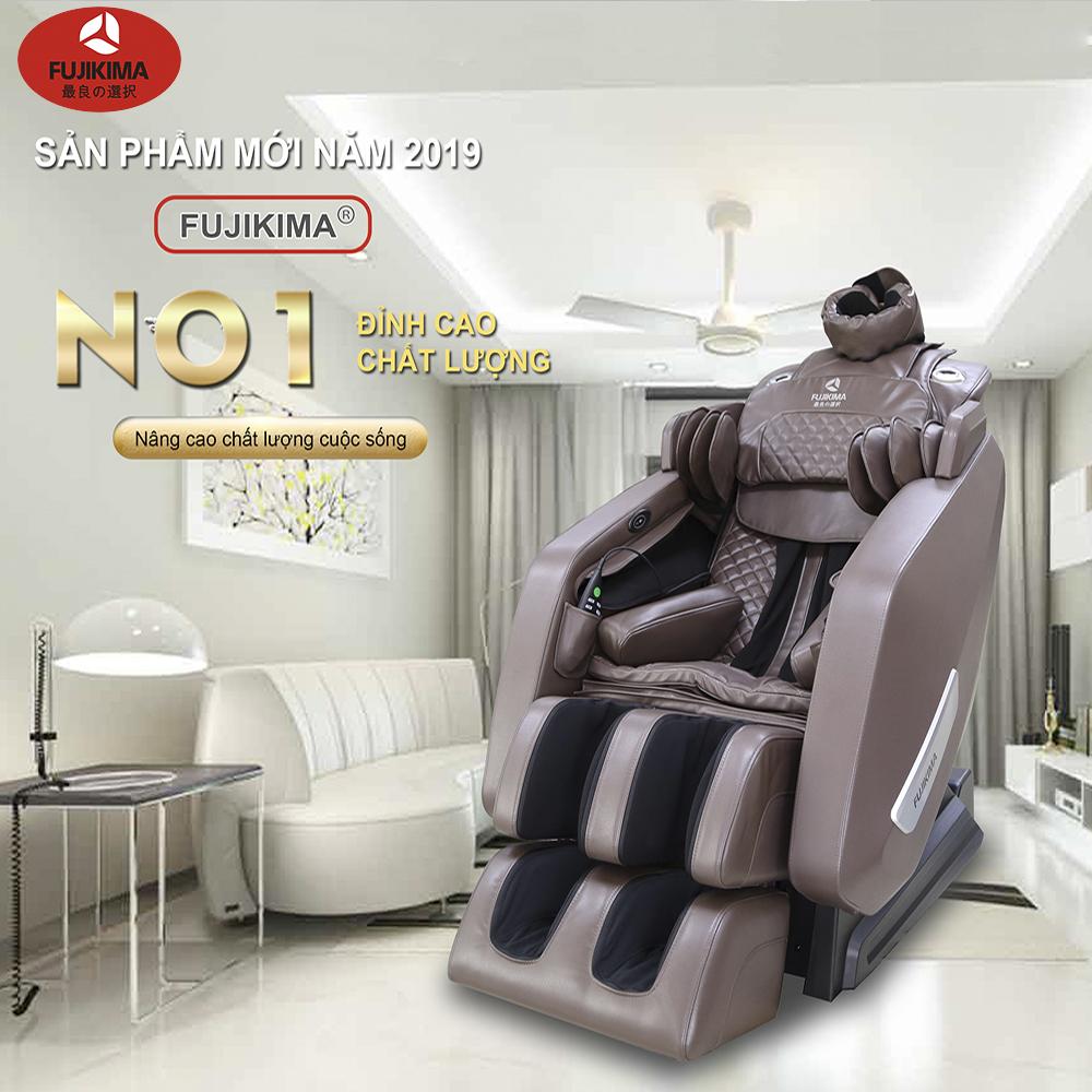 Ghế massage chính hàng fujikima FJ 909FX