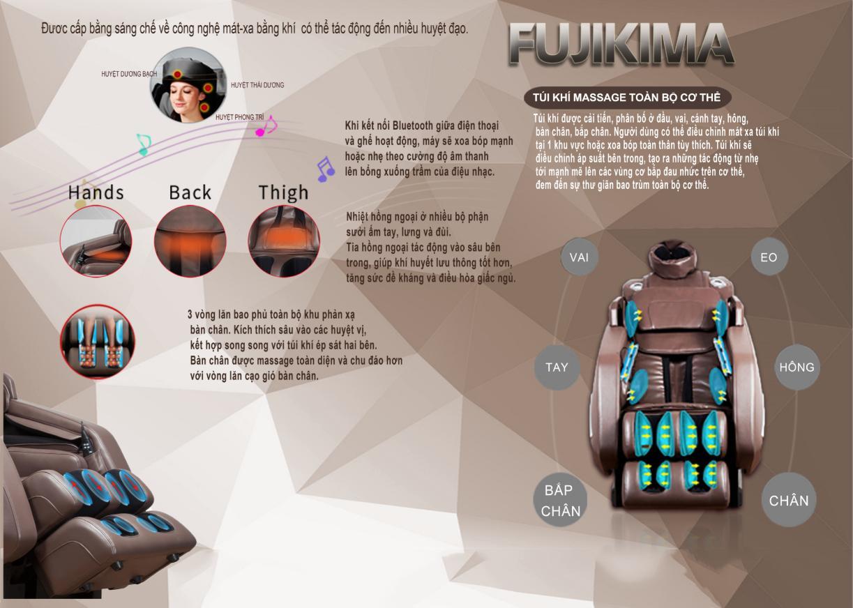 ghế massage 5D fujikima 909 FX