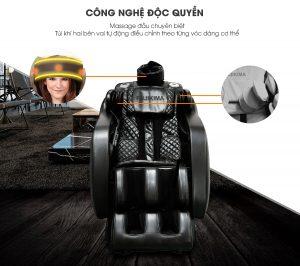 Công dụng tuyệt vời mà ghế Massage 5D mang lại