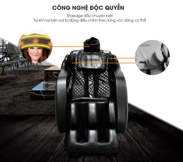 tác dụng ghế massage 5D